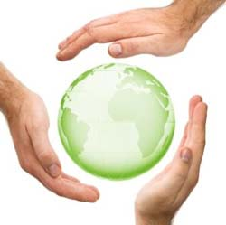 hands around globe webx250